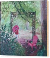 Shelter Wood Print