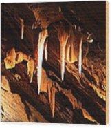 Shenandoah Caverns - 121212 Wood Print