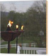 Shenandoah Valley - 01136 Wood Print