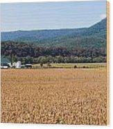 Shenandoah Valley Panorama Wood Print
