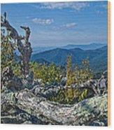 Shenandoah Vista Wood Print