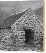 Shepherds Croft Wood Print