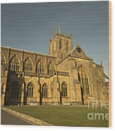 Sherborne Abbey  Wood Print