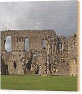 Sherborne Old Castle - 3 Wood Print