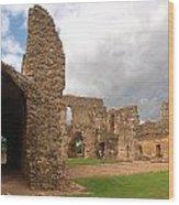 Sherborne Old Castle 5 Wood Print