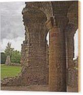 Sherborne Old Castle 6 Wood Print