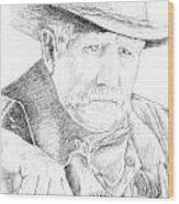 Sheriff Wood Print
