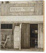 Sheriff Office Wood Print