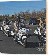 Sheriff's Motor Officers Wood Print