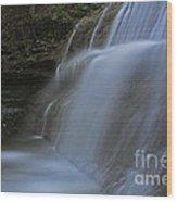 Sherman Falls Wood Print