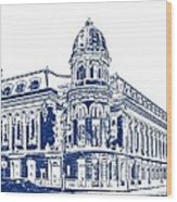 Shibe Park 2 Wood Print by John Madison