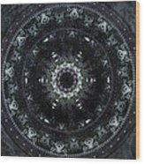 Shield Of Athena Wood Print