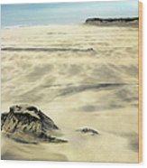 Shifting Sands On Ocracoke Outer Banks Wood Print