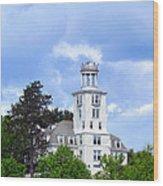 Shiloh Chapel Durham Maine Wood Print