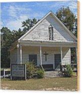 Shiloh-marion Baptist Church Wood Print