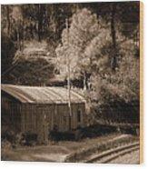 Shimla Rail Road Wood Print