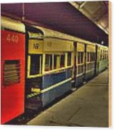 Shimla Toy Train Wood Print