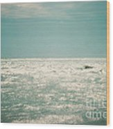 Shimmer Wood Print by Sharon Coty