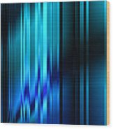 Shimmering Curtain Wood Print