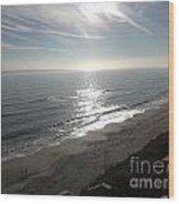 Shimmering Sunrise Wood Print