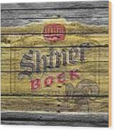 Shiner Bock Wood Print