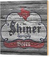 Shiner Specialty Wood Print