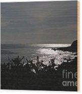 Shining Sea Wood Print