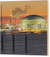 Shiny Refinery #3 2am-27808 Wood Print