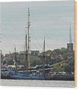 Ship 36 Wood Print by Joyce StJames