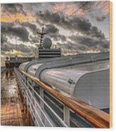 Ship Deck Wood Print