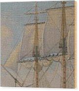 Ship-of-the-line Wood Print