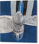 Ship Propeler. Wood Print