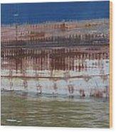Ship Rust 4 Wood Print