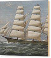 Ship Wood Print
