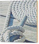 Ship Shape Wood Print