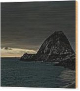 Ships At Point Mugu Wood Print