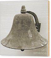 Ship's Bell Wood Print