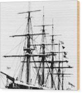 Ships Hms 'agincourt Wood Print