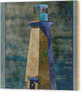 Shipwreck Point Lighthouse Wood Print