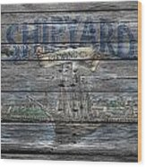 Shipyard Brewing Wood Print