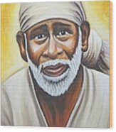 Shirdi Sai Baba Wood Print