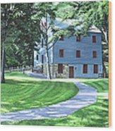 Shoaff's Mill Wood Print