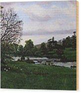 Shobrooke Park  Crediton  Devon Wood Print