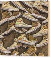 Shoe Art Wood Print