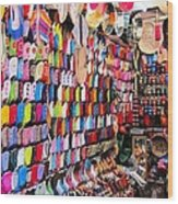 Shoe Souk Wood Print