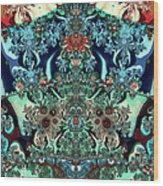 Shogun Regalia Wood Print