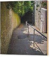 Shooters Lane Shaftesbury Wood Print