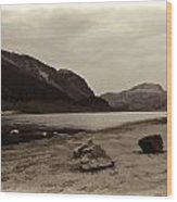 Shore Of A Loch In The Scottish Highlands Wood Print