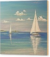 The Cays Wood Print by The Beach  Dreamer