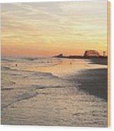 Shoreline Nj Wood Print